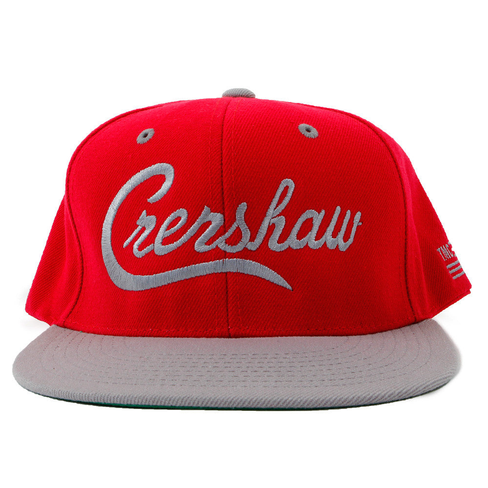 Snapback-Crenshaw-Red-Grey-Front
