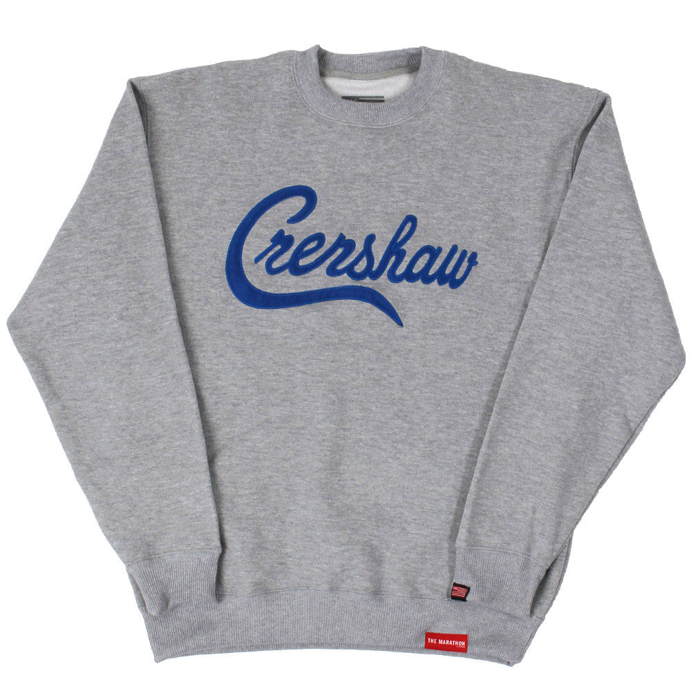 Crenshaw Sweatshirt - Ath Heather/Royal - Image 1