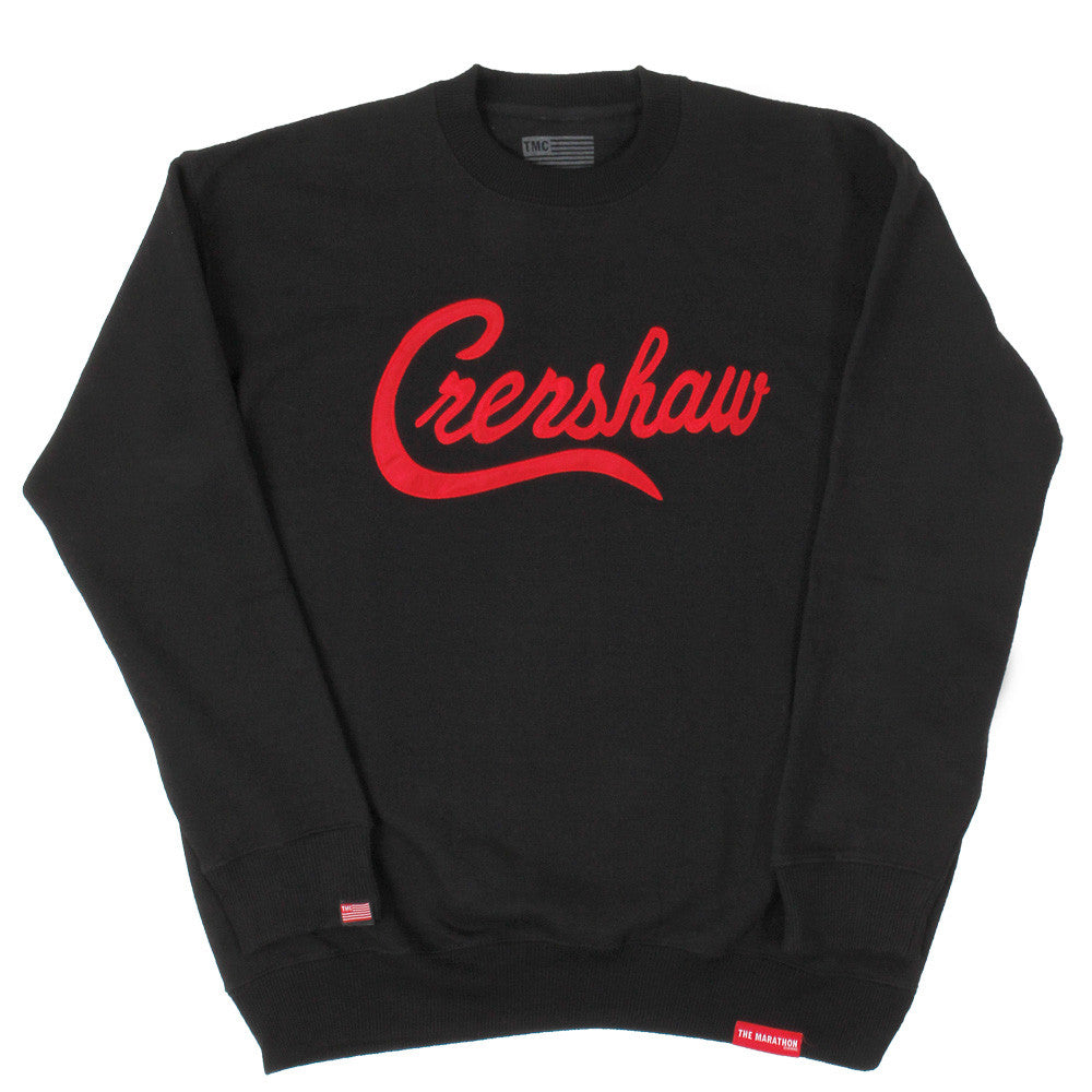 Crenshaw Sweatshirt - Black/Red - Image 1