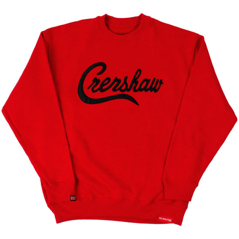 Crenshaw Sweatshirt - Red/Black - Image 1