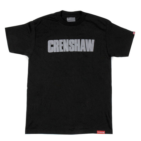 1991 Crenshaw T-Shirt - Black/Grey - Image 1