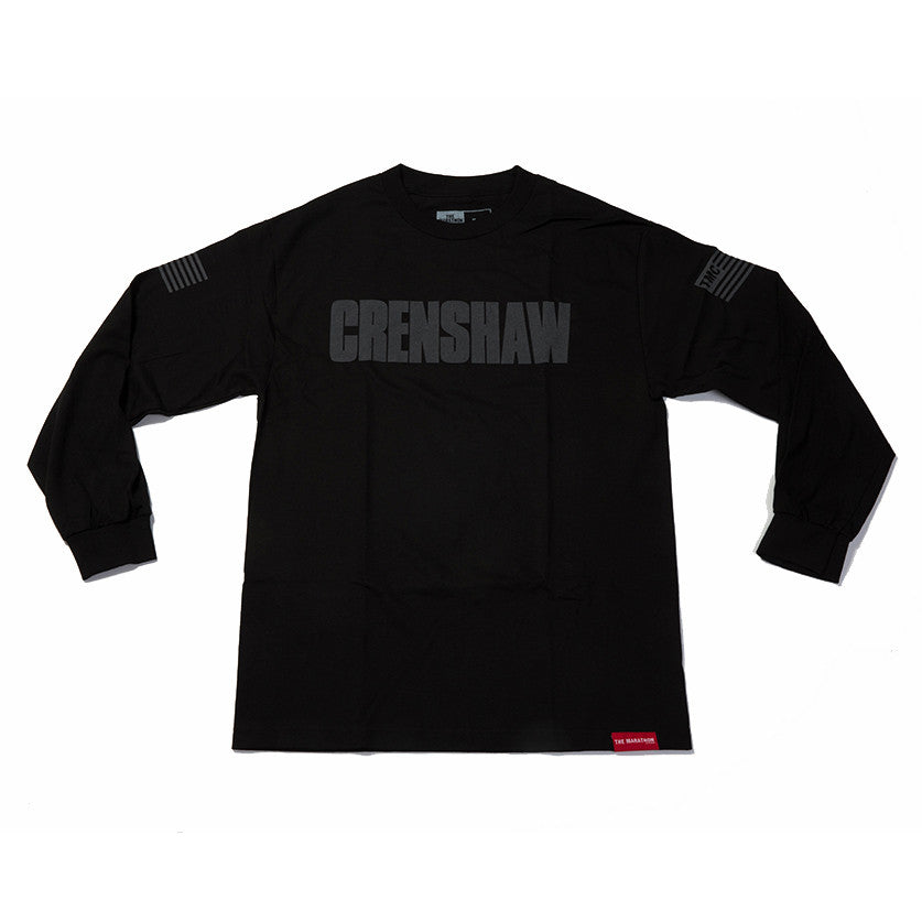 Crenshaw 3M Long Sleeve T-Shirt - Black - Image 1