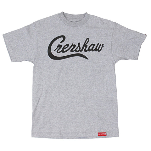 Crenshaw T-Shirt - Ath Heather/Black - Image 1