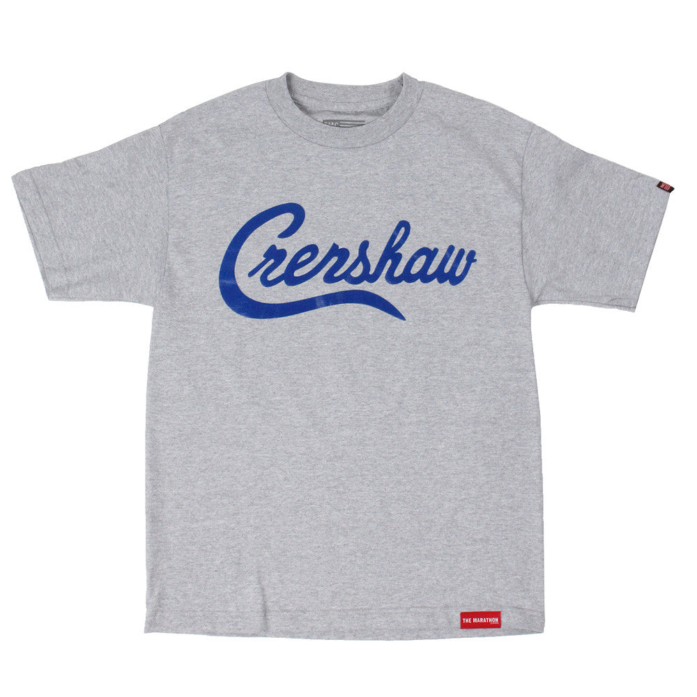 Crenshaw T-Shirt - Ath Heather/Royal - Image 1