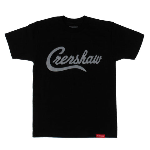 Crenshaw T-Shirt - Black/Charcoal - Image 1