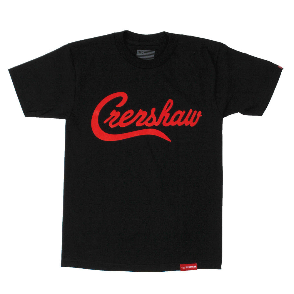 Crenshaw T-Shirt - Black/Red - Image 1