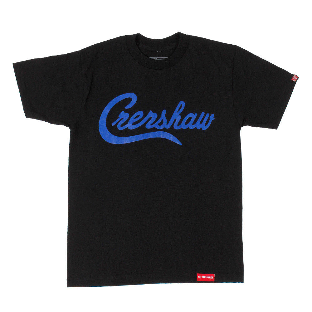 Crenshaw T-Shirt - Black/Royal - Image 1