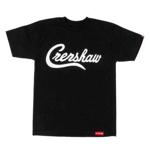 Crenshaw T-Shirt - Black/White - Image 1