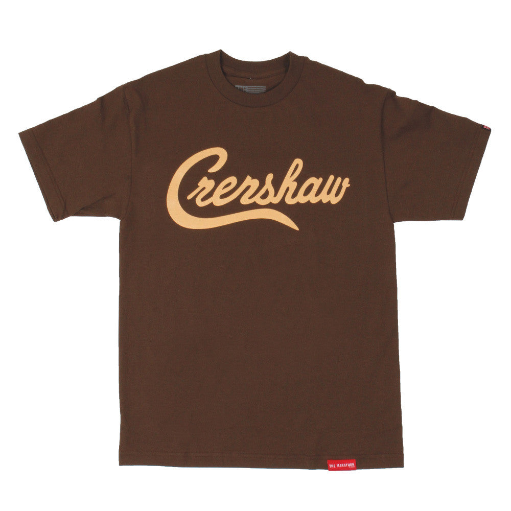 Crenshaw T-Shirt - Brown/Yellow - Image 1