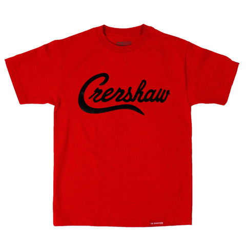 Crenshaw T-Shirt - Red/Black - Image 1