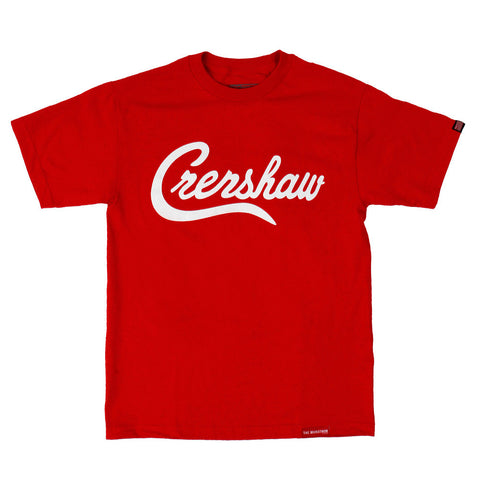 Crenshaw T-Shirt - Red/White - Image 1