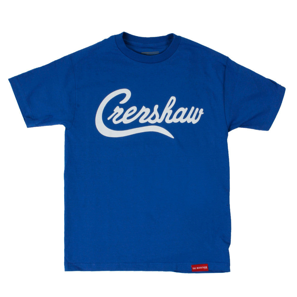 Crenshaw T-Shirt - Royal/White - Image 1