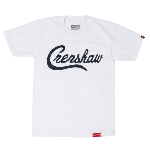 Crenshaw T-Shirt - White/Black - Image 1