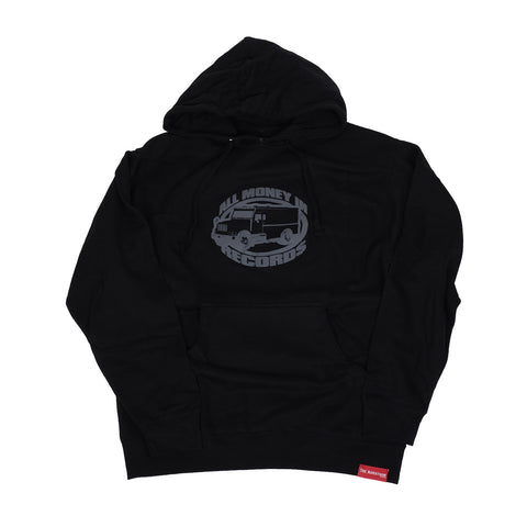 All Money In Hoodie Truck - Black/Grey