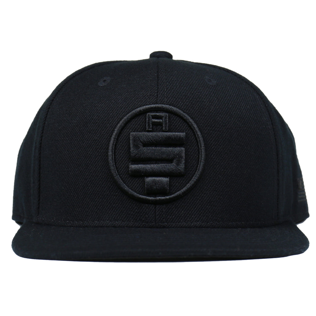 All Money In Snapback - Black/Black