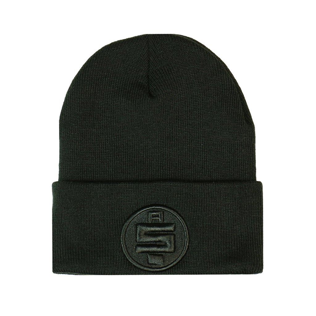 All Money In Beanie - Black/Black