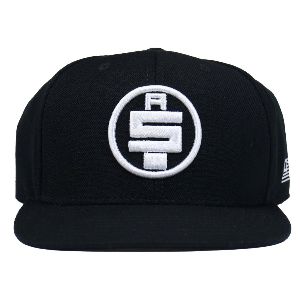 All Money In Snapback - Black/White