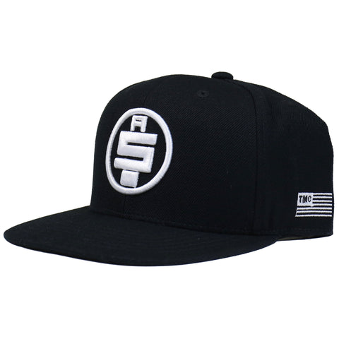 a3d597711172 All Money In Snapback - Black/White – The Marathon Clothing