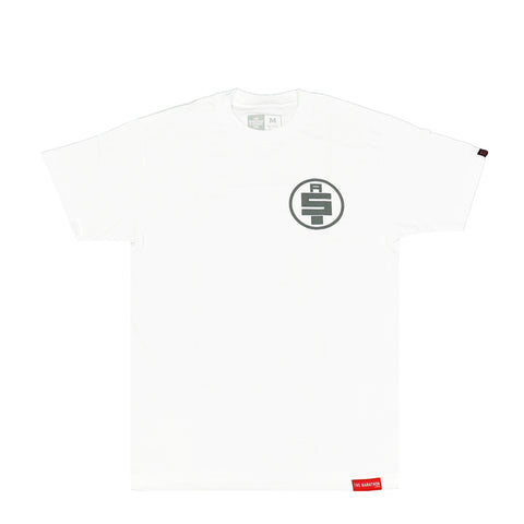 All Money In T-Shirt - White/Grey