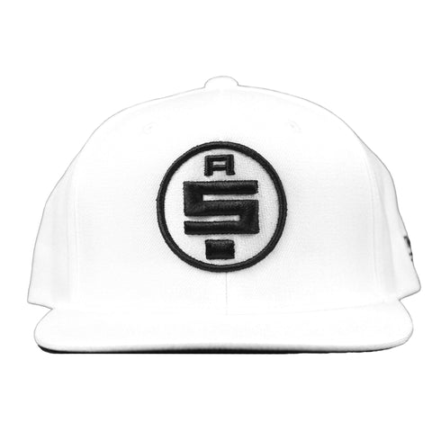 All Money In Snapback - White/Black