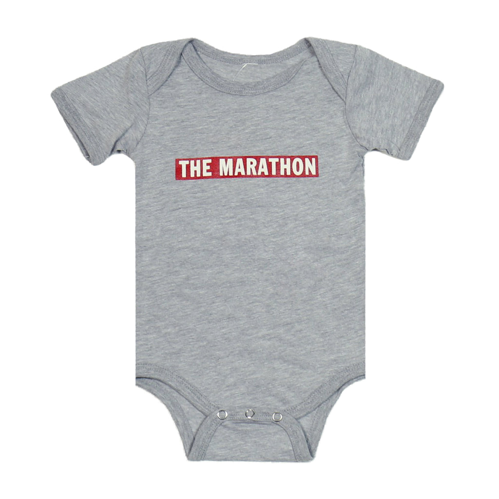 Marathon Bar Onesie - Grey