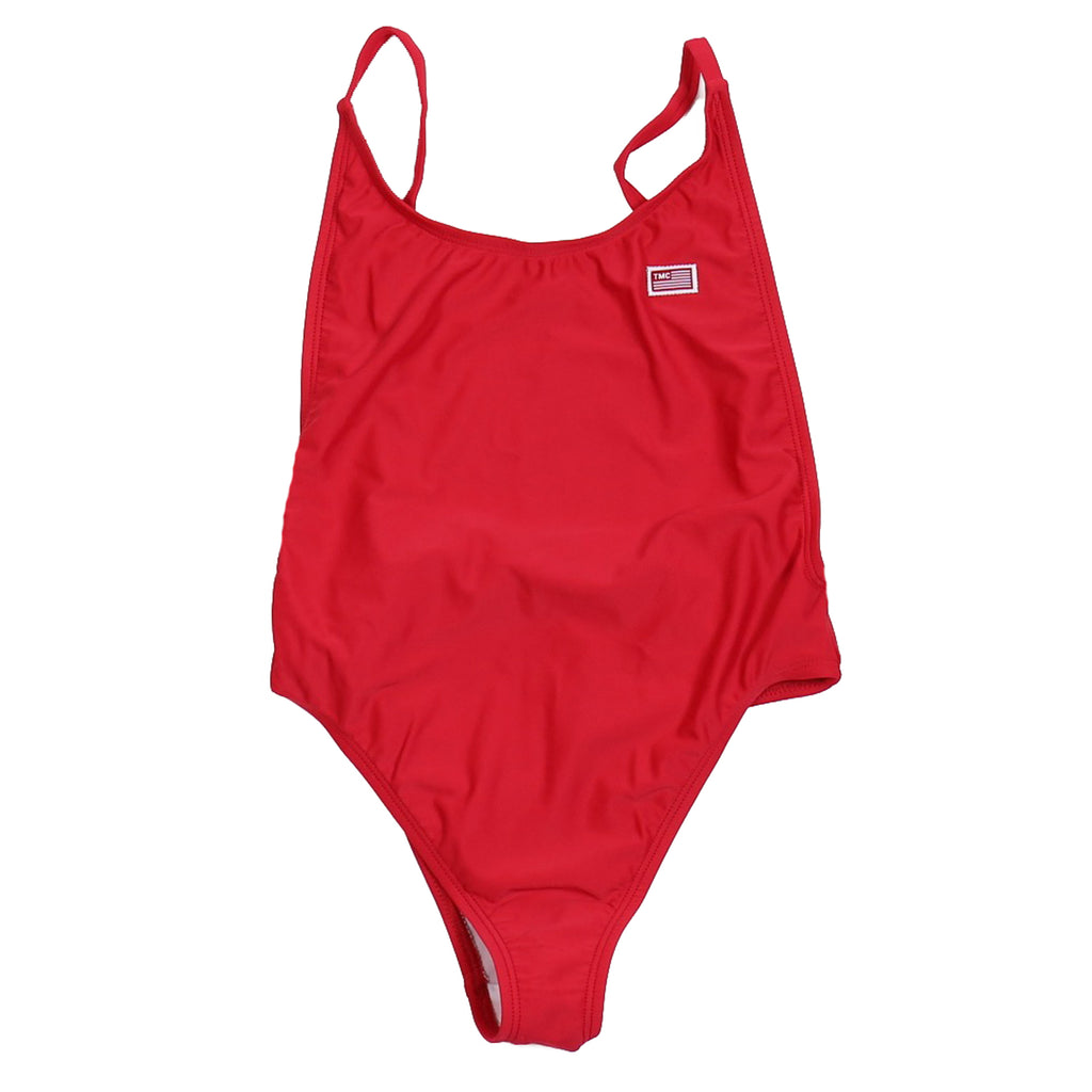 TMC Bathing Suit One Piece - Red