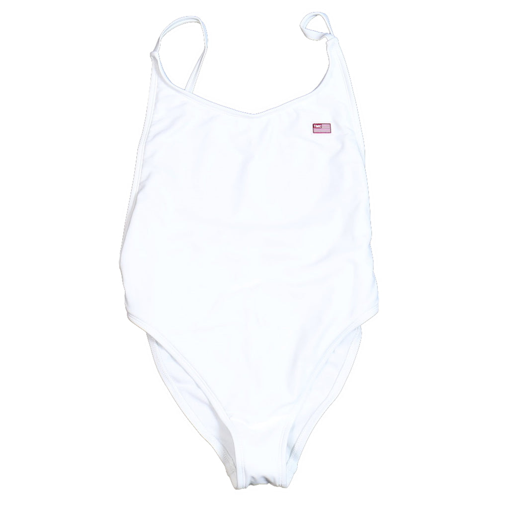 TMC Bathing Suit One Piece - White