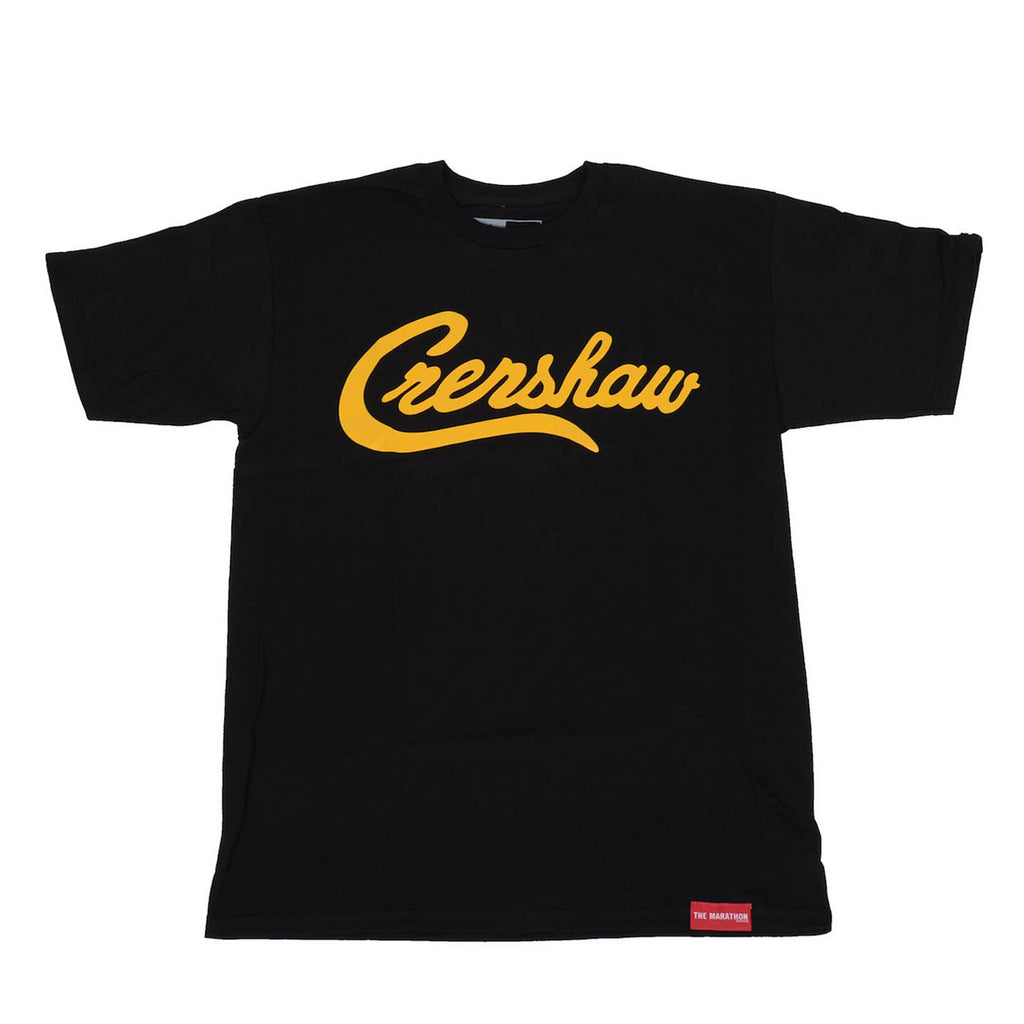 Crenshaw T-Shirt - Black/Yellow