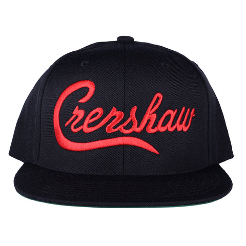 Crenshaw Snapback - Black/Red
