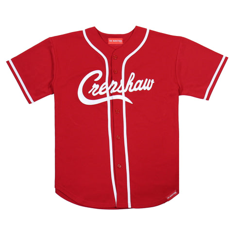 Crenshaw Baseball Jersey - Red