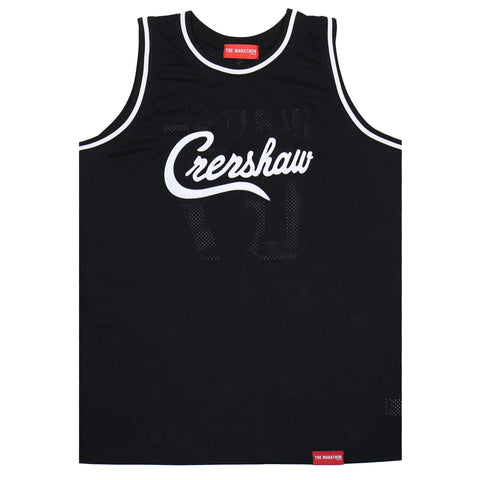 Crenshaw Basketball Jersey - Black