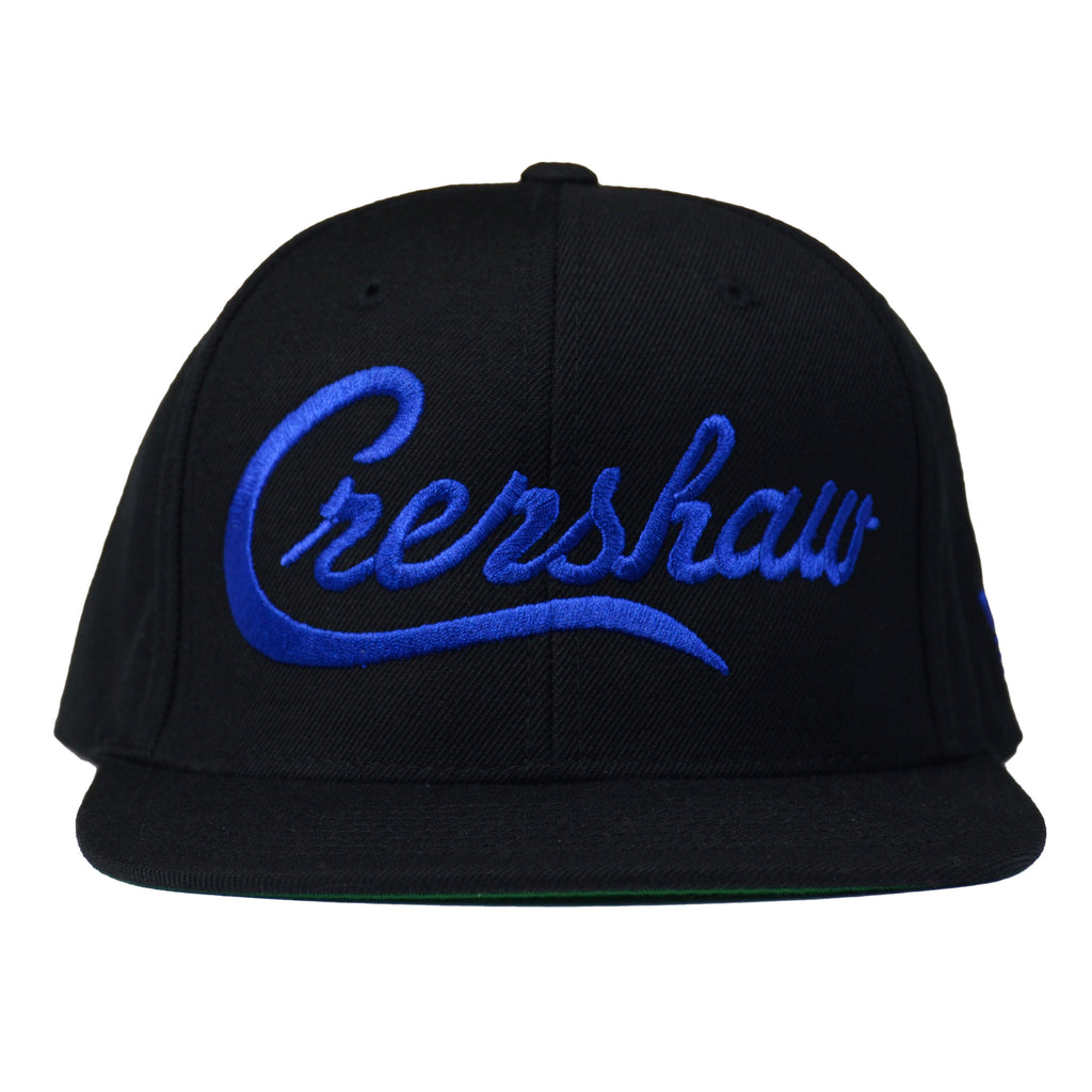 Crenshaw Snapback - Black/Royal