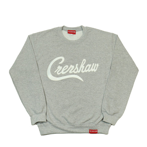 Crenshaw Sweatshirt - Heather/White