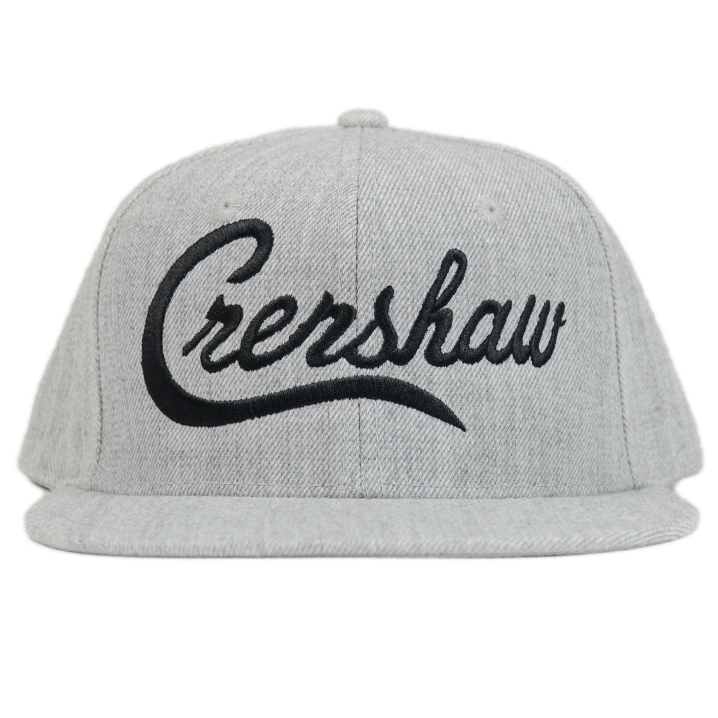 Crenshaw Snapback - Athletic Heather/Black