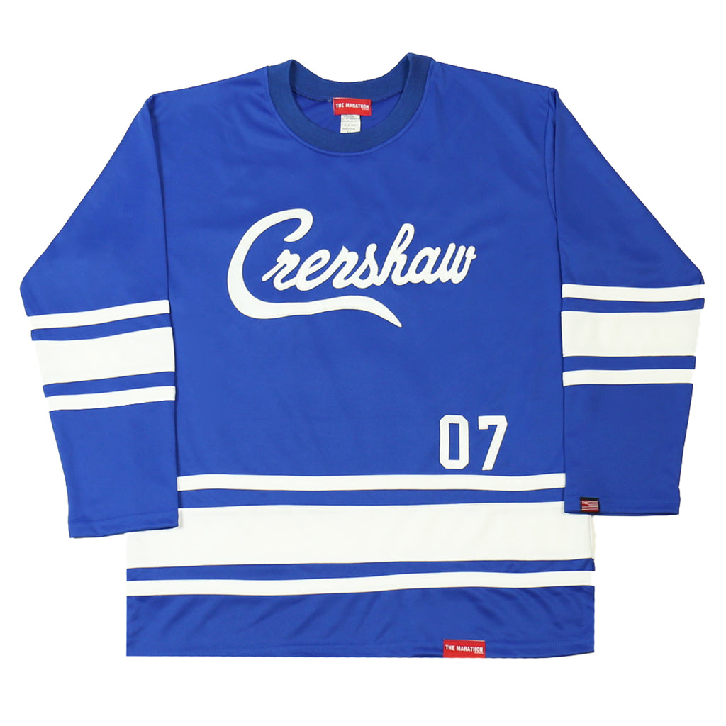 Crenshaw Hockey Jersey - Blue