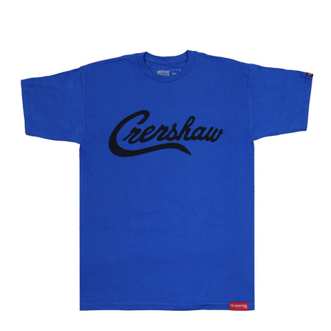 Crenshaw T-Shirt - Royal/Black