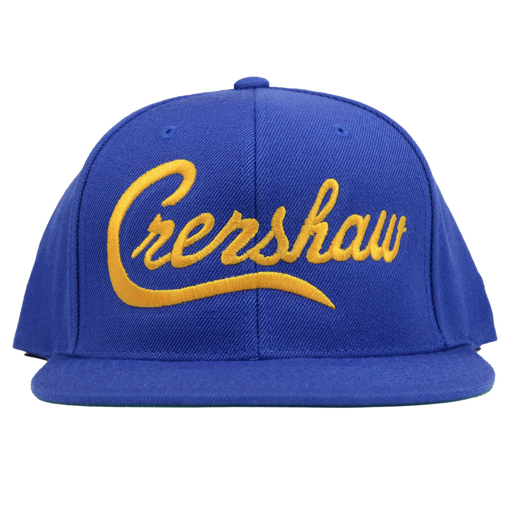 Crenshaw Snapback - Royal/Gold