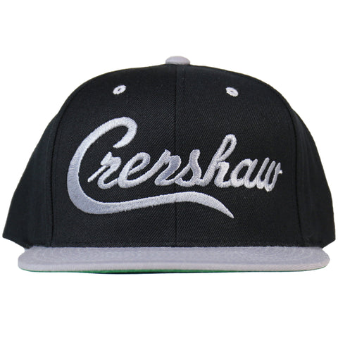 Crenshaw Snapback - Black/Gray [Two-Tone]