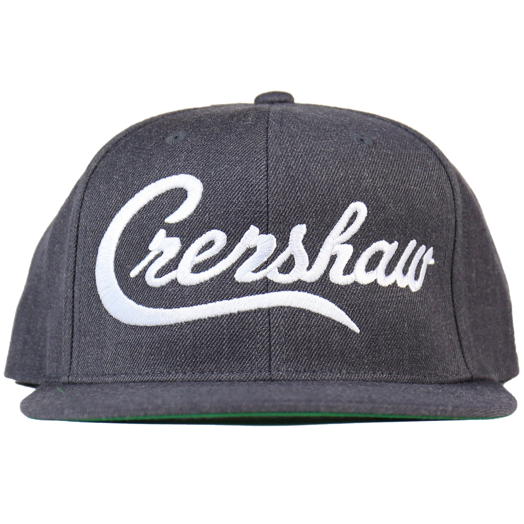 Crenshaw Snapback - Charcoal/White [Tweed]