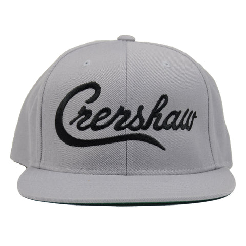 Crenshaw Snapback - Heather/Black