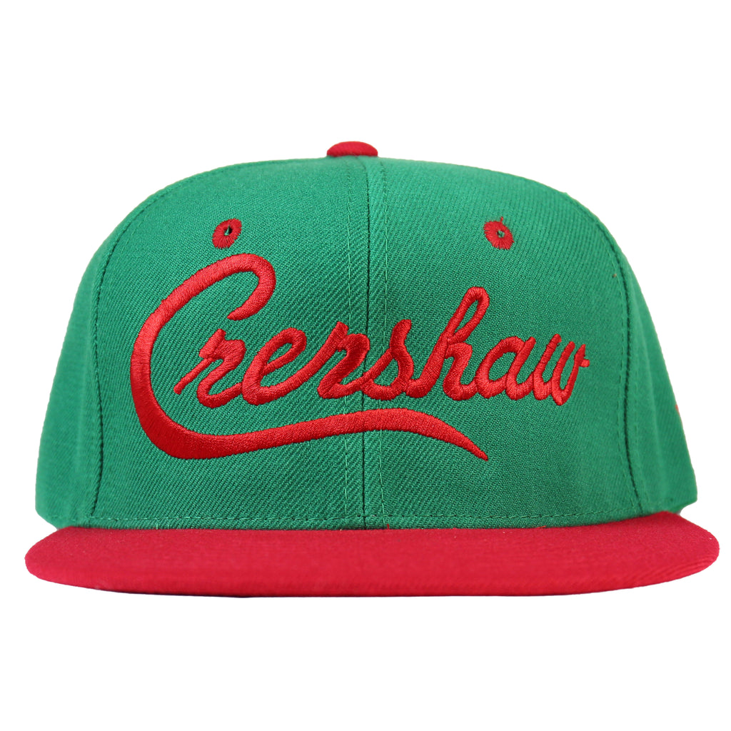 Crenshaw Snapback - Green/Red [Two-Tone]