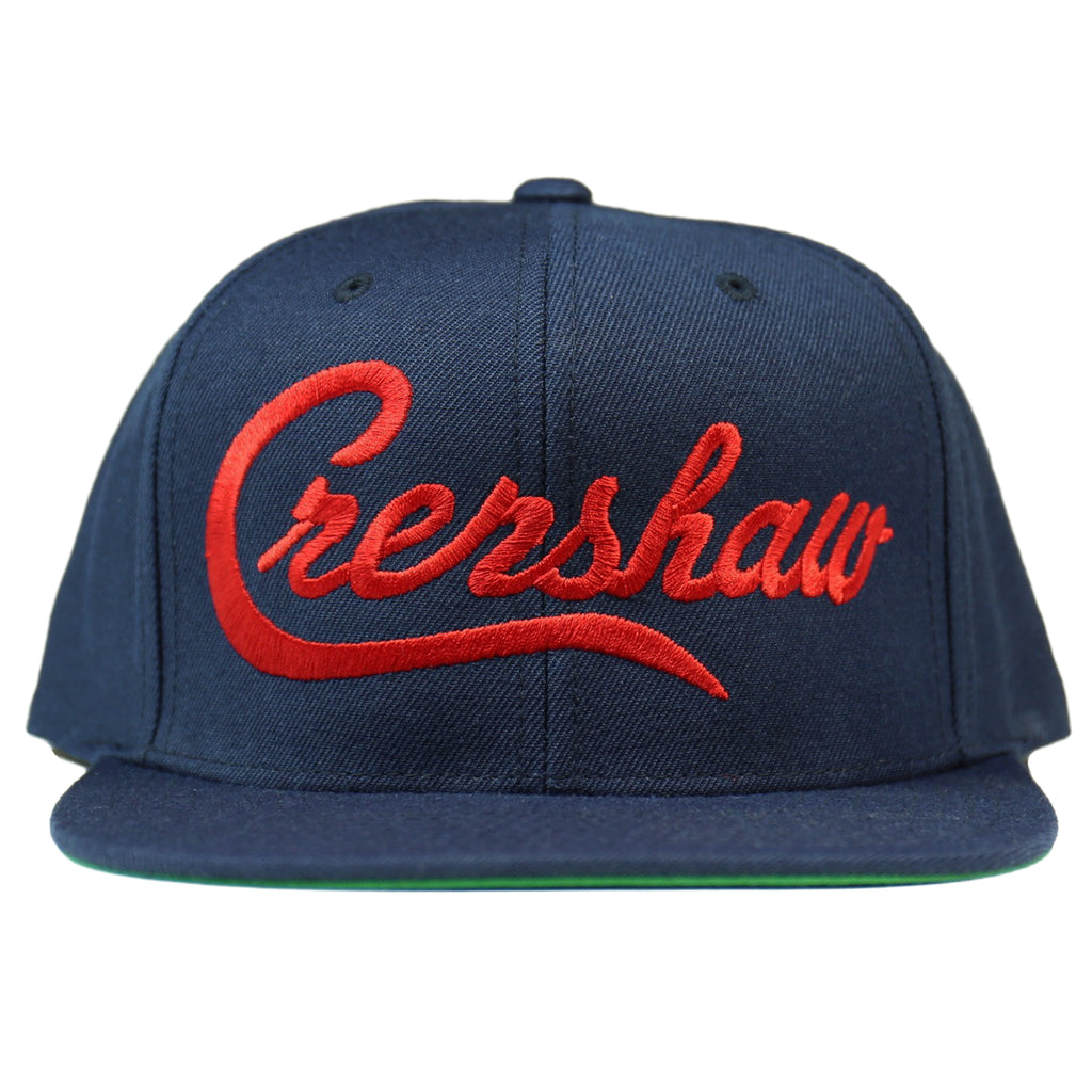 Crenshaw Snapback - Navy/Red