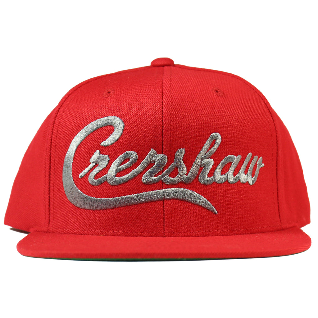 Crenshaw Snapback - Red/Charcoal