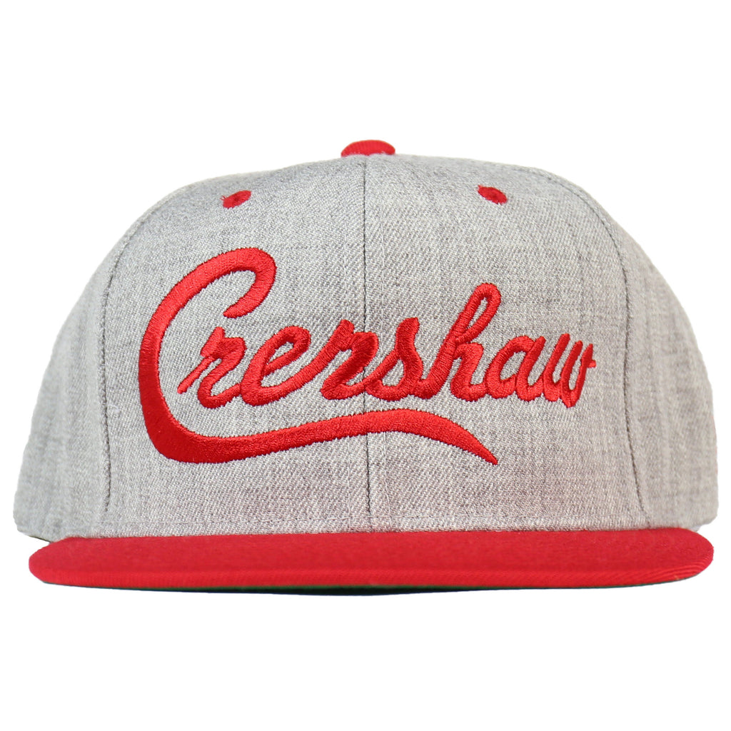 Crenshaw Snapback - Gray/Red [Two-Tone]