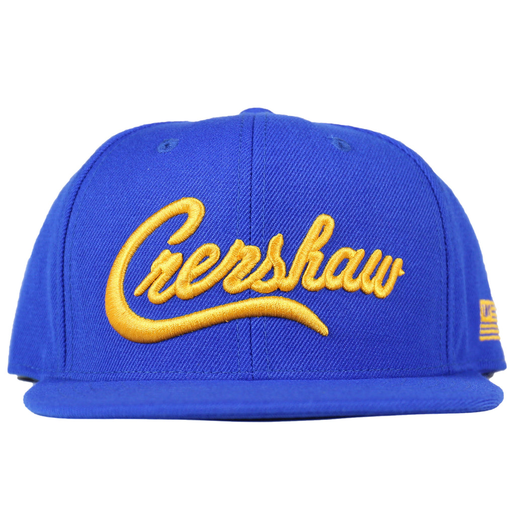 Crenshaw Snapback - Royal/Yellow [3D]