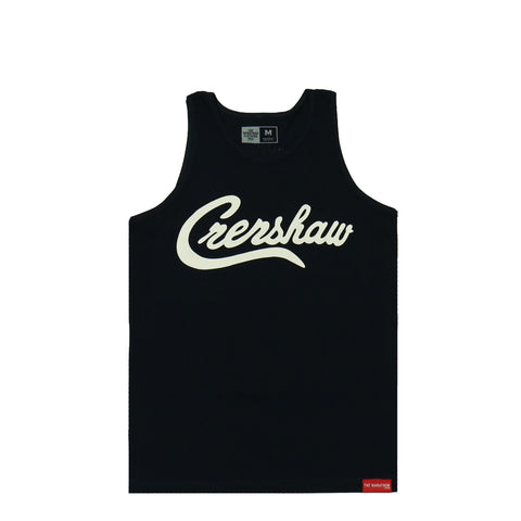 Crenshaw Tank Top - Black/White