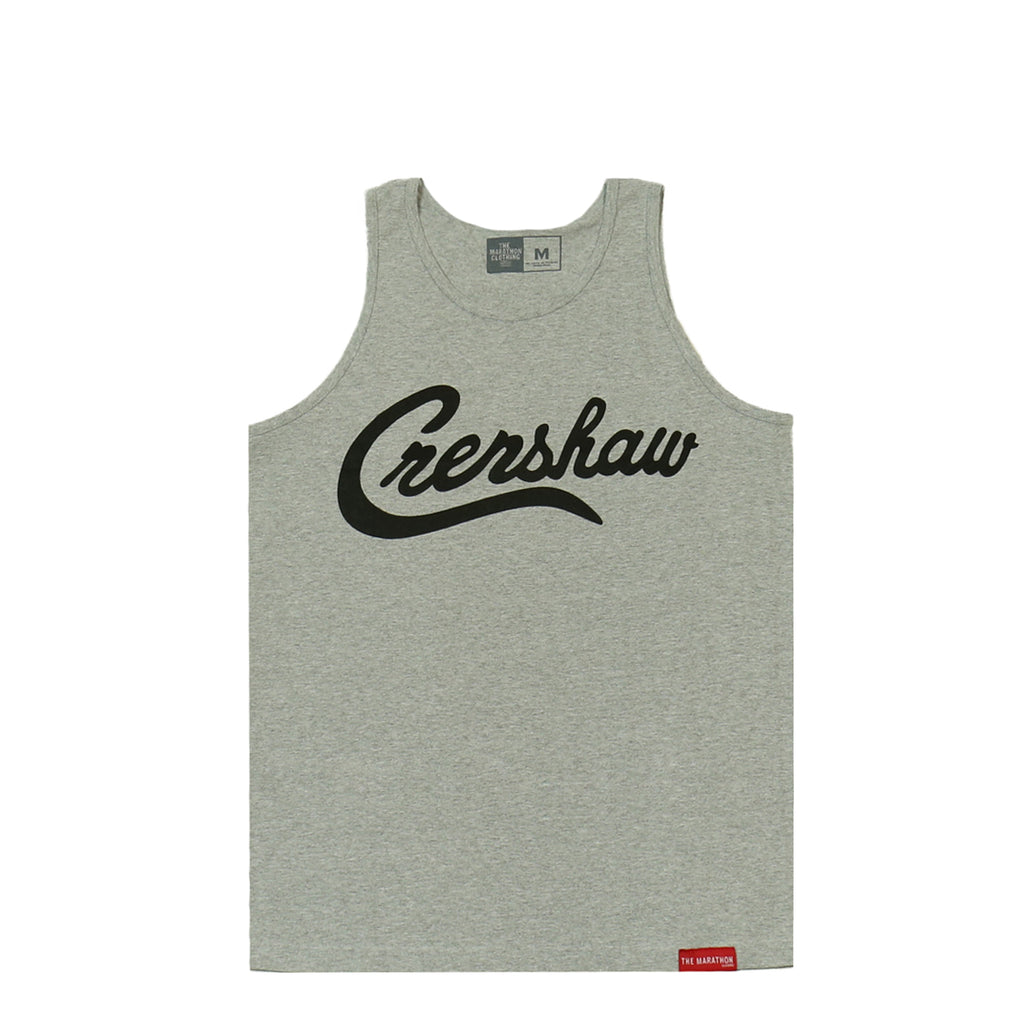 Crenshaw Tank Top - Heather/Black