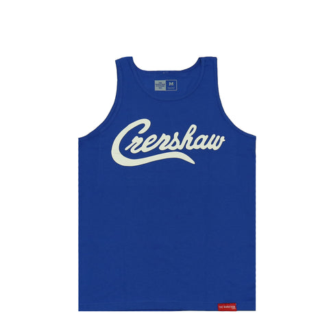 Crenshaw Tank Top - Royal/White