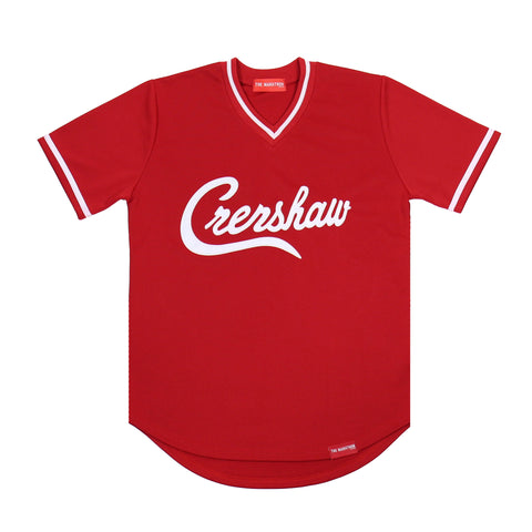 Crenshaw Baseball Warm Up - Red