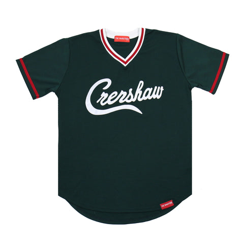 Crenshaw Baseball Warm Up - Green/Red